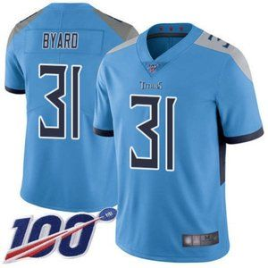 Tennessee Titans Kevin Byard 100th Season Jersey
